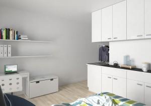 fertig eingerichtete möblierte Studentenwohnungen